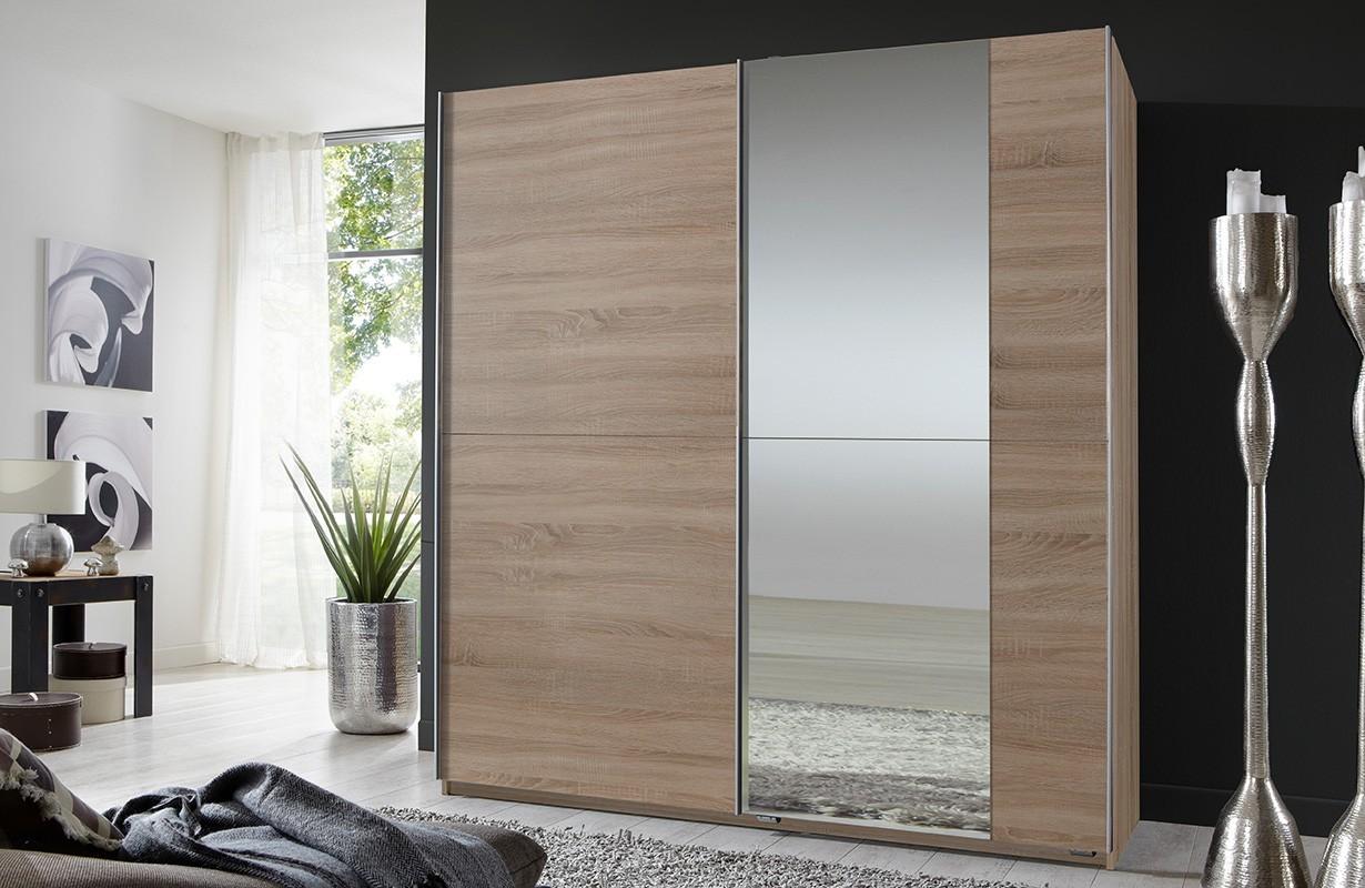 kleiderschrank mit schiebet ren rizzoli v2 von nativo m bel schweiz. Black Bedroom Furniture Sets. Home Design Ideas