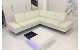 Designer Sofa ADA - Echtleder - ab Ausstellung