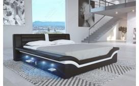 Designer Lederbett EVERLAST mit LED Beleuchtung
