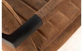 Chaise Design BORNEO INDUSTRIAL BROWN