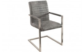 Chaise Design BORNEO GREY