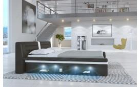 Designer Bett LENOX mit LED Beleuchtung