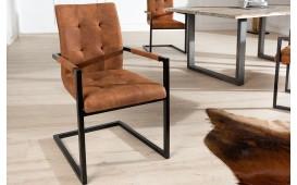 Chaise Design UNIVERSITY BROWN