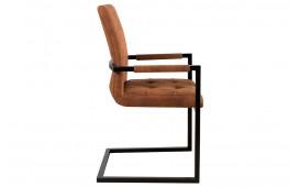 Designer Stuhl UNIVERSITY BROWN