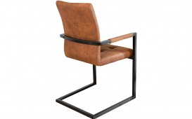 Chaise Design UNIVERSITY BROWN