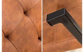 Designer Stuhl UNIVERSITY BROWN