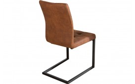 Designer Stuhl SCHOOL BROWN