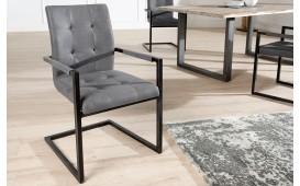 2 x Chaise Design UNIVERSITY GREY