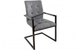 Chaise Design UNIVERSITY GREY