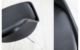 Designer Stuhl WRAP BLACK
