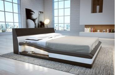 Letto con luci LED TYSON NATIVO mobili camera da letto