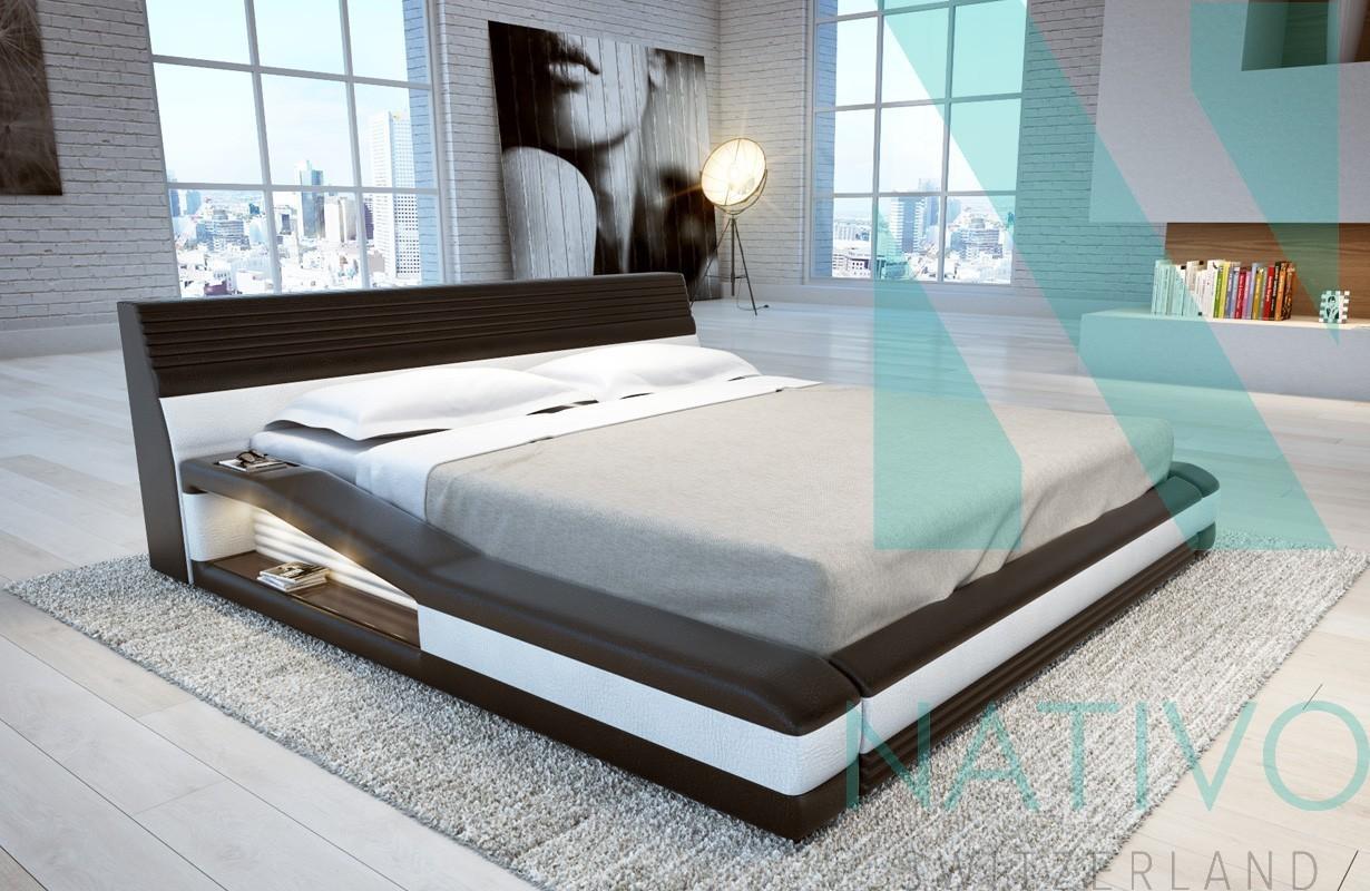 Illuminazione Led Camera Da Letto : Letto con luci led tyson nativo mobili camera da letto