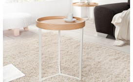 Tavolino di design ROND WOOD