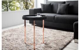 Tavolino di design ROND BLACK
