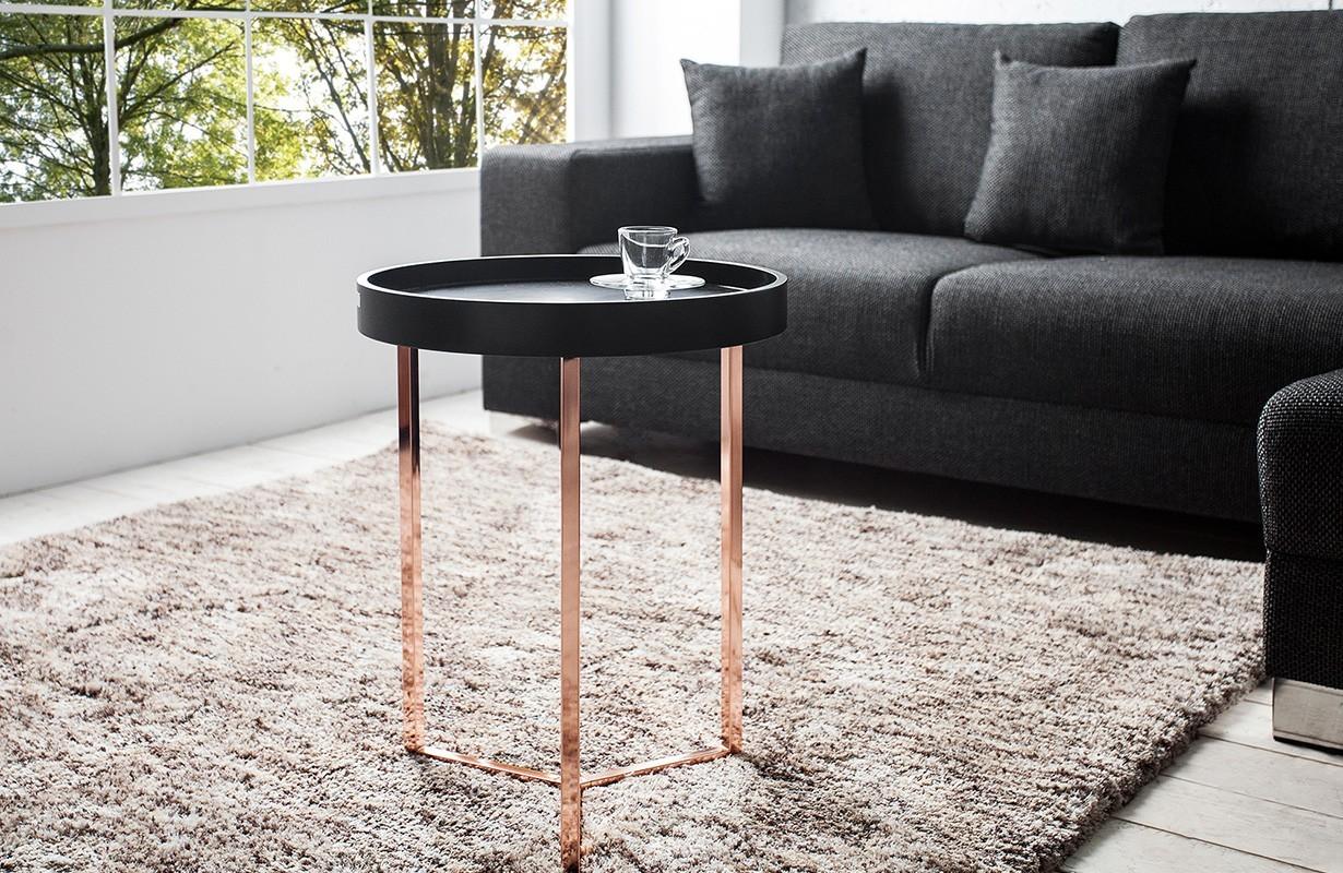 designer couchtisch rond black bei nativo m bel schweiz. Black Bedroom Furniture Sets. Home Design Ideas