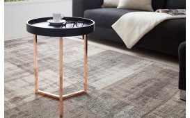 Table basse Design ROND BLACK