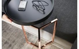 Designer Couchtisch ROND BLACK