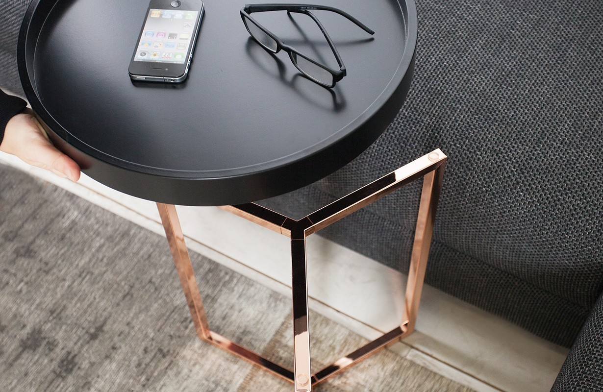 designer couchtisch rond black bei nativo m bel schweiz g nstig kaufen. Black Bedroom Furniture Sets. Home Design Ideas