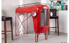 Designer Bartisch TRAKT RED