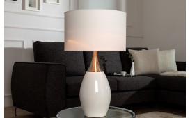 Lampe de table CARLOS WHITE