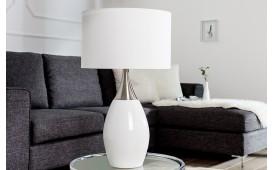 Designer Tischleuchte CARLOS WHITE