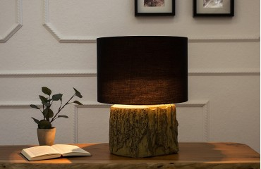 Lampe de table PURE WOOD STONE