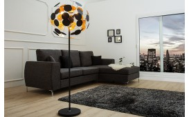 Lampadaire design FUTURO BLACK