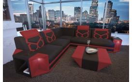 Designer Sofa AVENTADOR CORNER mit LED Beleuchtung