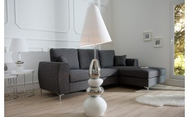 Designer Stehleuchte PURE STONES WHITE