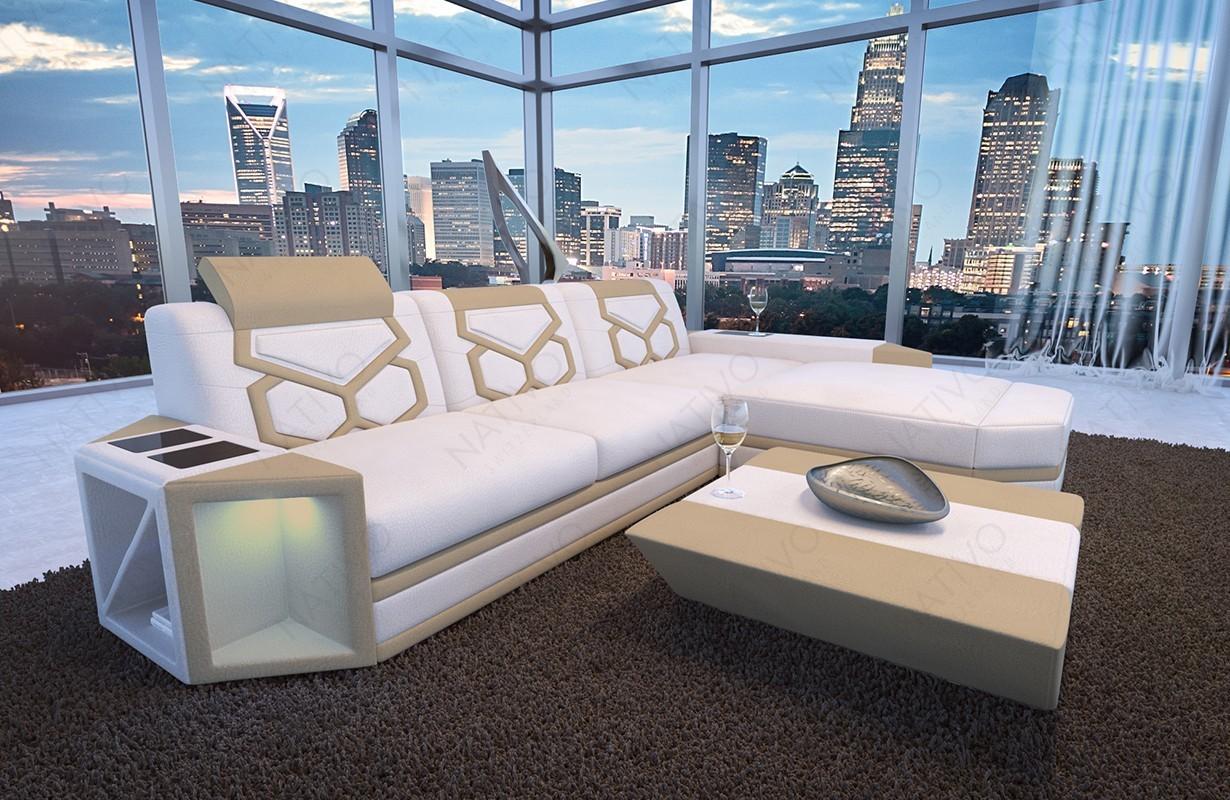 ledersofa ledercouch g nstig kaufen im nativo online shop. Black Bedroom Furniture Sets. Home Design Ideas