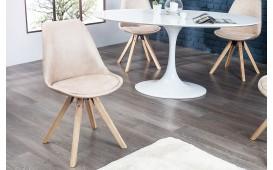 4 x Chaise Design SCANIA ANTIK BEIGE
