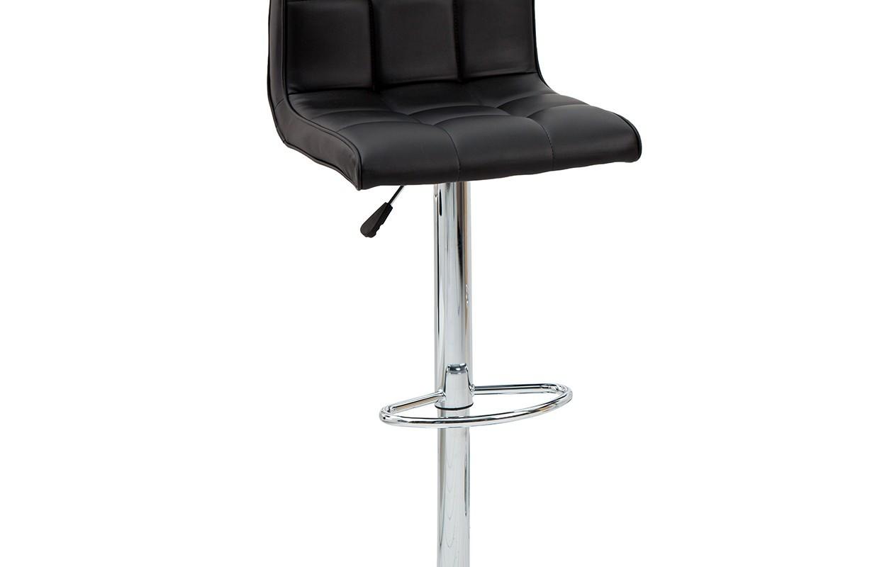 Tabouret moderne cesena black meuble salon for Tabouret salon