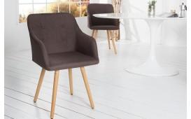 Chaise Design SQUARE BROWN