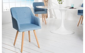 2 x Designer Stuhl SQUARE BLUE