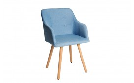 Chaise Design SQUIRE BLUE