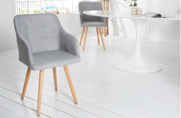 Chaise Design SQUIRE GREY