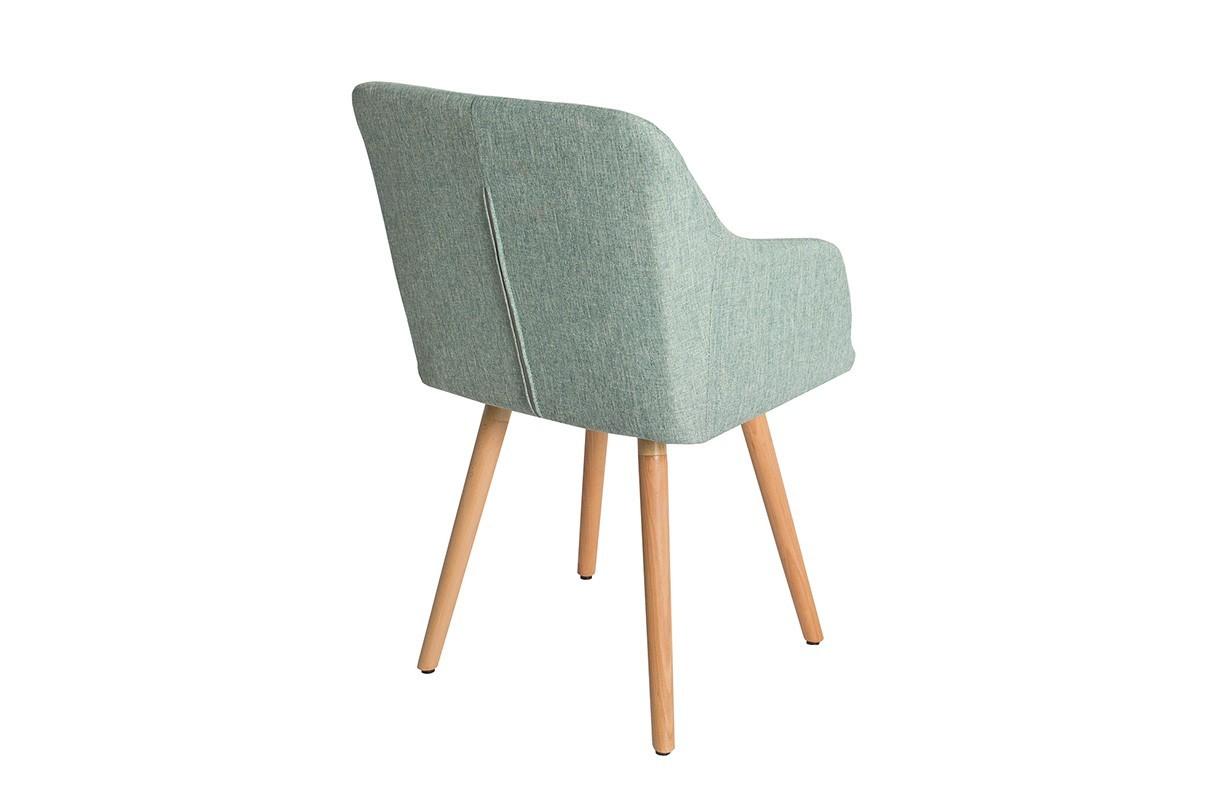chaise design square green nativo meuble moderne. Black Bedroom Furniture Sets. Home Design Ideas
