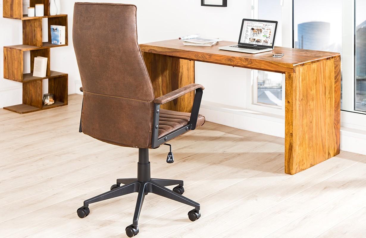 Sedia ufficio moderna class l brown mobili design nativo - Sedie da ufficio ...