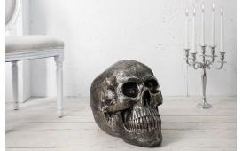 Designer Skulptur CRANEO BRONZE