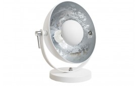 Lampe de table SESSION SILVER WHITE