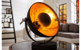 Lampe de table SESSION BLACK GOLD