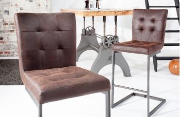 Sgabello con schienale da bar apollo arredo design online