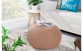 Tabouret Design CUDDLE BEIGE