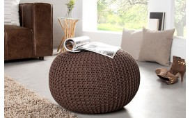 Pouf di design CUDDLE COFFEE