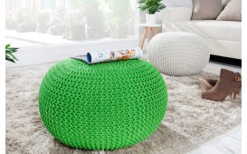 Pouf di design CUDDLE LEMON