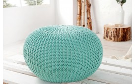 Pouf di design CUDDLE MINT