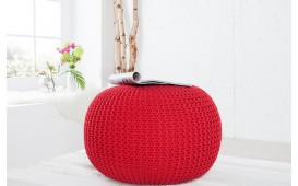Pouf di design CUDDLE RED