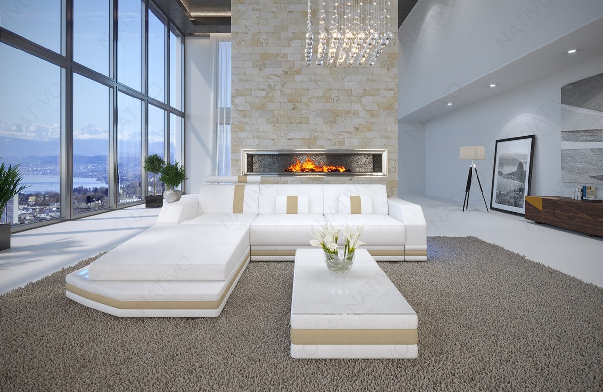 designer ledersofa mesia mini bei nativo m bel schweiz g nstig kaufen. Black Bedroom Furniture Sets. Home Design Ideas