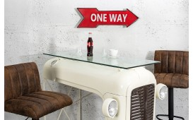 Elemento decorativo ONE WAY