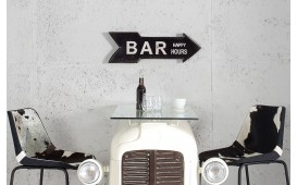 Schild Bar Happy Hours schwarz